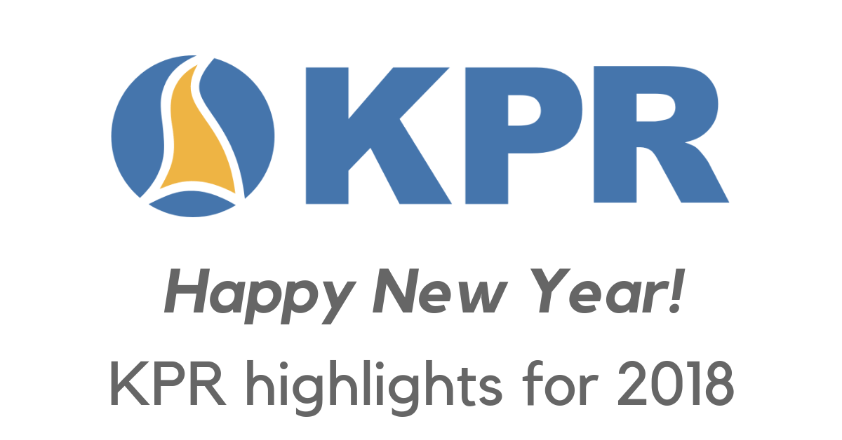 KPR highlights for 2018