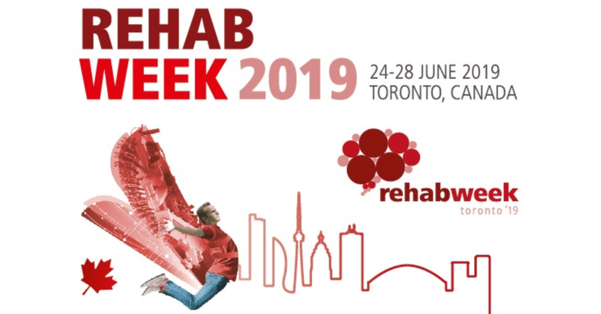 RehabWeek 2019 conference held in Toronto June 24-28