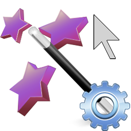 Logo: Pointing Wizard software for computer mouse accessibility. Click to learn more.